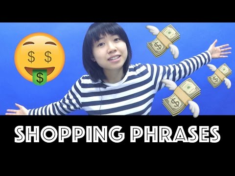 CANTONESE #16 Hong Kong Shopping Phrases!
