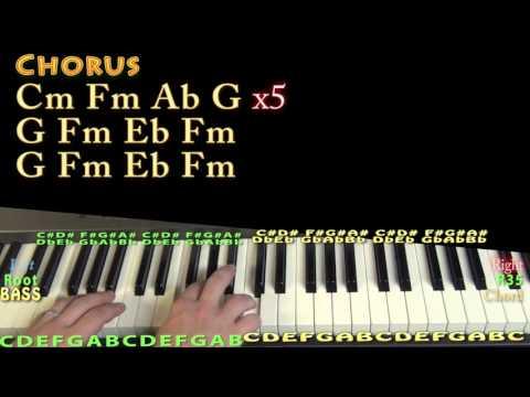 Scholarships (Drake) Piano Lesson Chord Chart