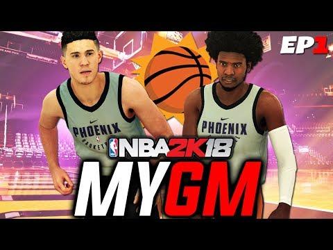 NBA 2K18 MyGM EP 1 | Phoenix Suns | Trading Bledsoe + Rebuilding a Dynasty!