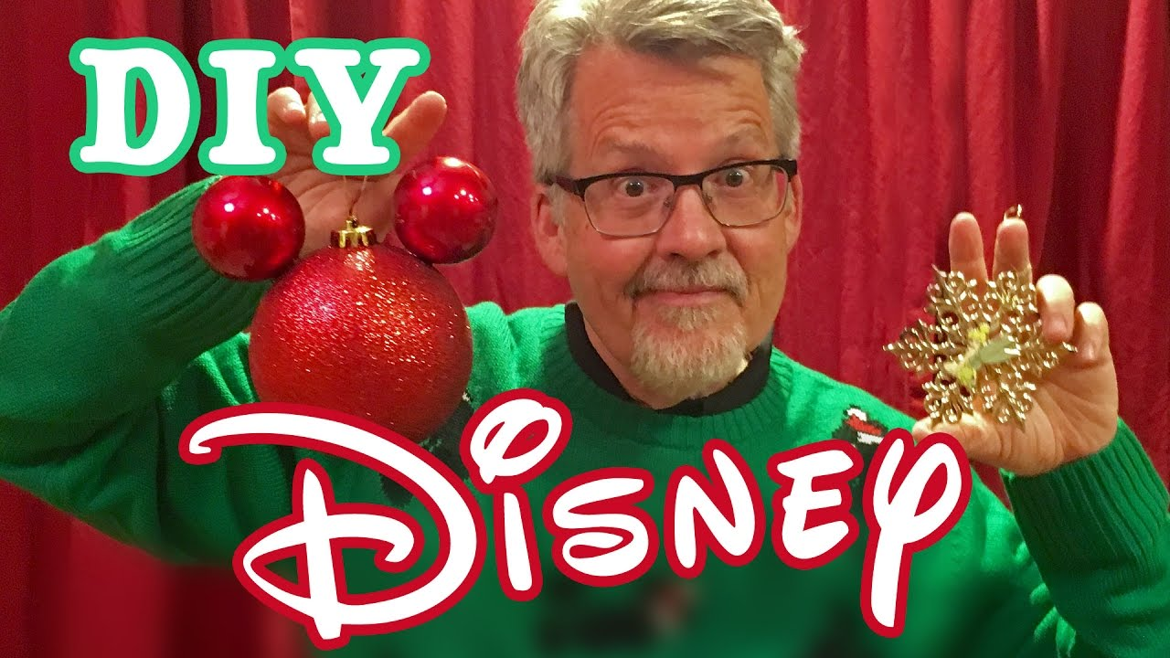 diy dollar store disney christmas ornaments mickey minnie mouse youtube