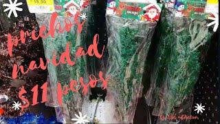 Prichos $11 pesos Navidad y rebajas Walmart