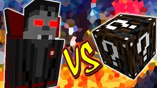 VAMPIRE OVERLORD VS. LUCKY BLOCK ESPECIAL (MINECRAFT LUCKY BLOCK CHALLENGE)
