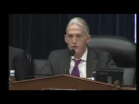 Watch Trey Gowdy's Last Moment in Congress