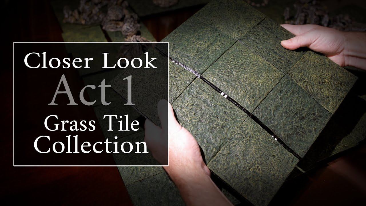 In-Depth: Mystic-Realm's Grass Tile Collection 1 [3D Printer Terrain  Designs]
