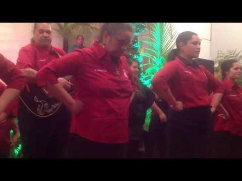 Spine Tingling Performance By Kapahaka Roopu Te Haona Kaha in Kawhia