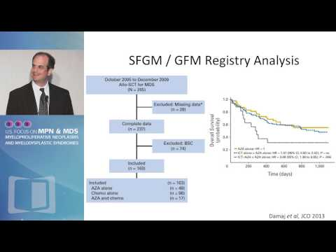 Which Cytoreductive Therapy before Transplant for MDS?