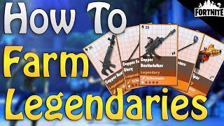 FORTNITE - How To Farm Legendary Weapons, Heroes, Traps, And Vbucks In Save The World