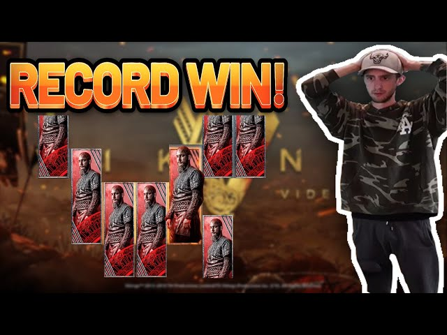 RECORD WIN!!! Vikings BIG WIN - Casino Games from Casinodaddys live stream
