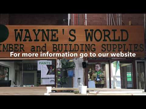Waynes World Timber & Building Supplies Sydney Ph: 9666 9409