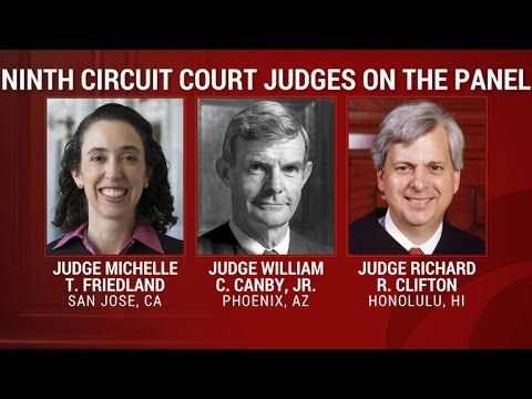 Listen to Justice Dept. lawyers argue for the travel ban in the Ninth Circuit Court