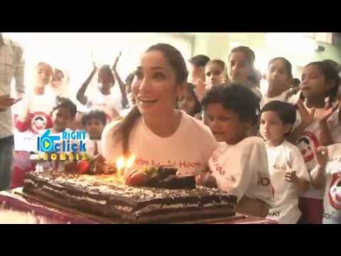 Sofia Hyatt Spend Time With Orphan Children | Bollywood News 2015