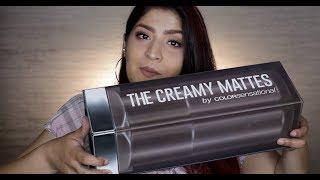 Maybelline Creamy Matte Lipstick Review In Hindi 35 Shades Swatches Shreya Jain