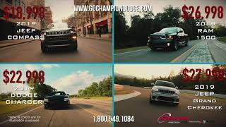 CHAMPION | DODGE JEEP RAM | Summer Clearance Event | Downey, Los Angeles, Cerritos CA - 800.549.1084