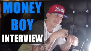 MONEY BOY Interview: Hustensaft Jüngling, Medikamenten Manfred, Bushido, MoTrip, KC, Savas, Splash