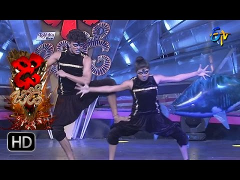 Sanketh and Priyanka Performance | Dhee Jodi | 29th March 2017 | ETV Telugu