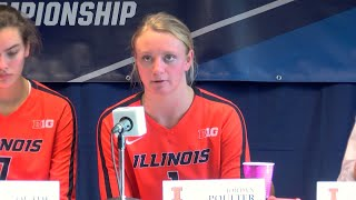 Illini Volleyball | Sweet 16 Press Conference