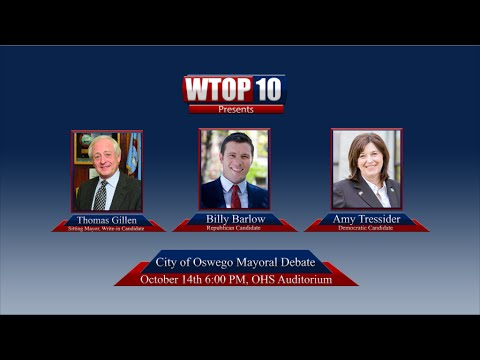 City of Oswego Mayoral Debate- WTOP Live Event