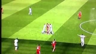 Andy Carroll Fight Vs Swansea