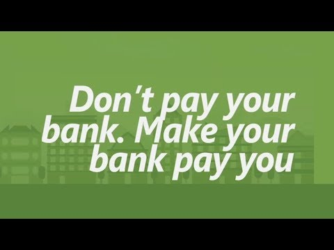 Save Big in 30 seconds a day: Don't pay your bank. Make your bank pay you.