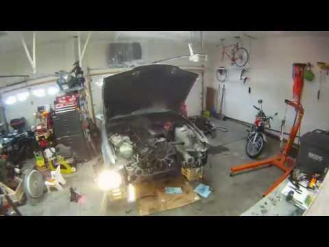 BMW E36 M3 Engine Pull