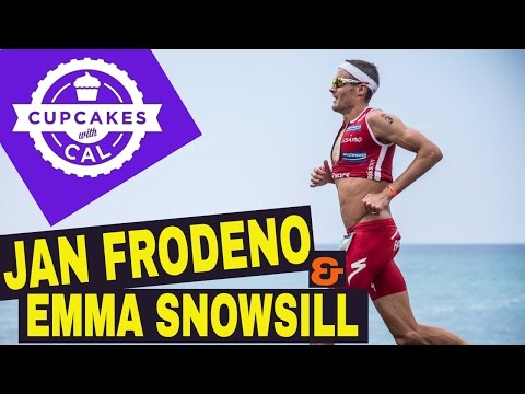 Cupcakes with Cal - Jan Frodeno & Emma Snowsill