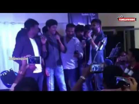 sivakarthikeyan sings rajini song at marriage function
