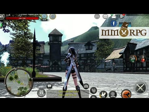 Top 14 Best English MMORPG Android, iOS Games 2018