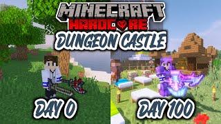 100 Hari Minecraft Hardcore Mod Dungeon Castle