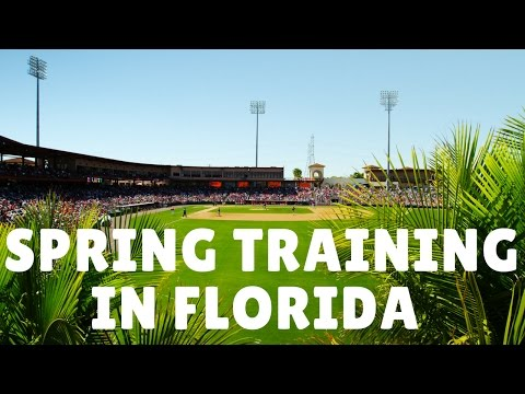Florida Travel: A Guide to MLB Spring Training