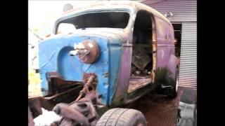 Chopped Custom 1942 Chevy Panel Truck...another project