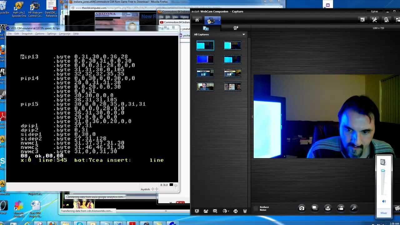 Commodore 64 game design