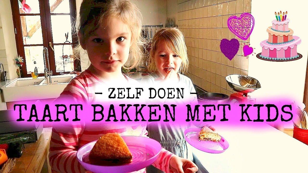 Bekend Taart bakken: Taart bakken met kids - YouTube &UE32