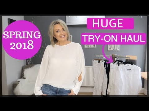 HUGE Try On Haul (Spring 2018) | Zara, Mango, Coast and More
