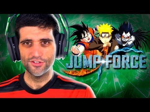 Goku x Naruto x Freeza x Luffy, NOVO gameplay de JUMP FORCE