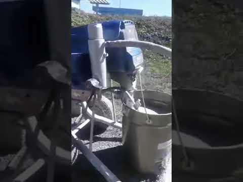 HYVST EPT 450 нанесение грунтовки ЛАКРА ГФ-021 на нефтехранилище, или «Рома, крась Рома!!!»