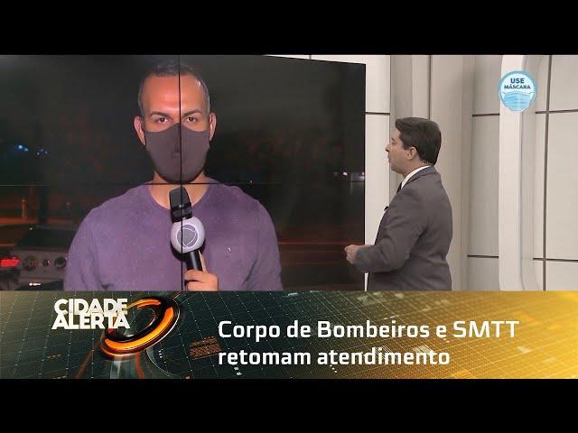 Corpo de Bombeiros e SMTT retomam atendimento nas Centrais Já! de Maceió