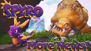 MORE Spyro News AND Images!! - Spyro Reignited Trilogy