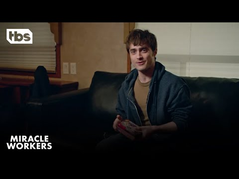 Miracle Workers: An Evening with Daniel Radcliffe in a Trailer | TBS