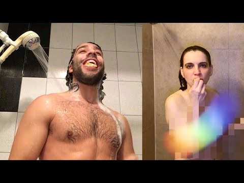 Canadians Try The Shower Orange For The First Time!
