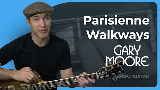 Parisienne Walkways - Gary Moore Tribute #2of2 (Songs Guitar Lesson ST-327) How to play