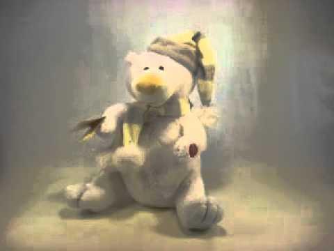 White Bear singing Let it Snow