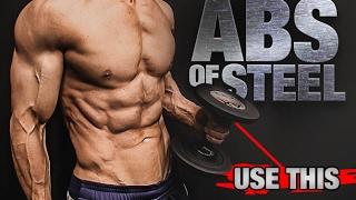 تجريب Ab مع الدمبل (محفور ABS!)