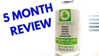 HYDRATING SERUM | Oz Naturals Hyaluronic Acid Serum Review