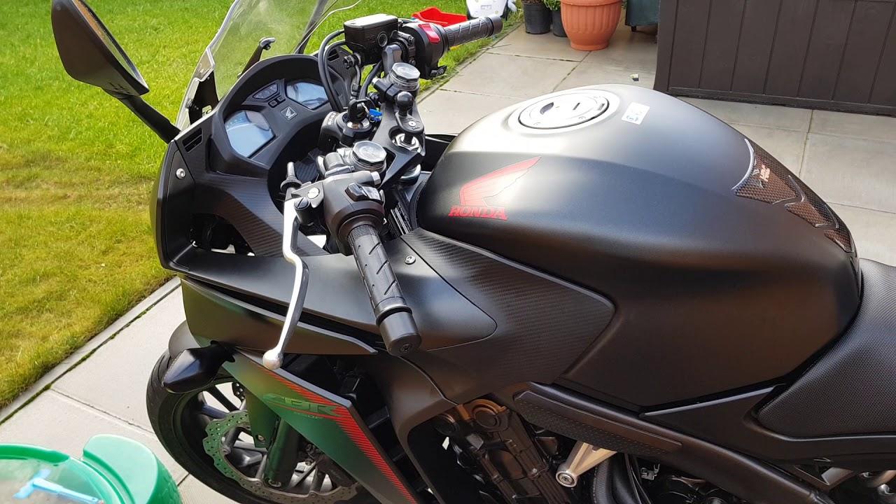 hight resolution of honda cbr650f 2017 full sat nav mount install wiring guide tomtom rider 42 part 1