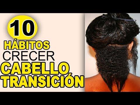 10 hábitos que harán crecer tu  cabello en  transición /  Los Rizos de Yarah