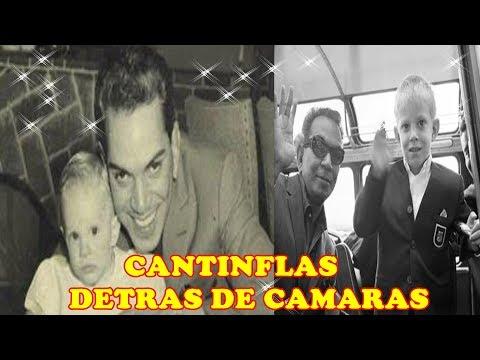 LA VIDA REAL  DE CANTINFLAS CON SU HIJO DETRÁS DE LAS CÁMARAS