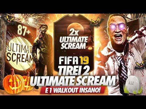 TIREI 2 SCREAM e 1 WALKOUT MONSTRO 😱🔥 PACK OPENING FIFA 19 ULTIMATE TEAM