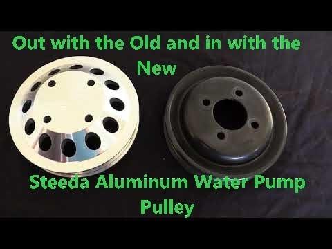 Steeda Aluminum Water Pump Pulley 5.0 Mustang GT
