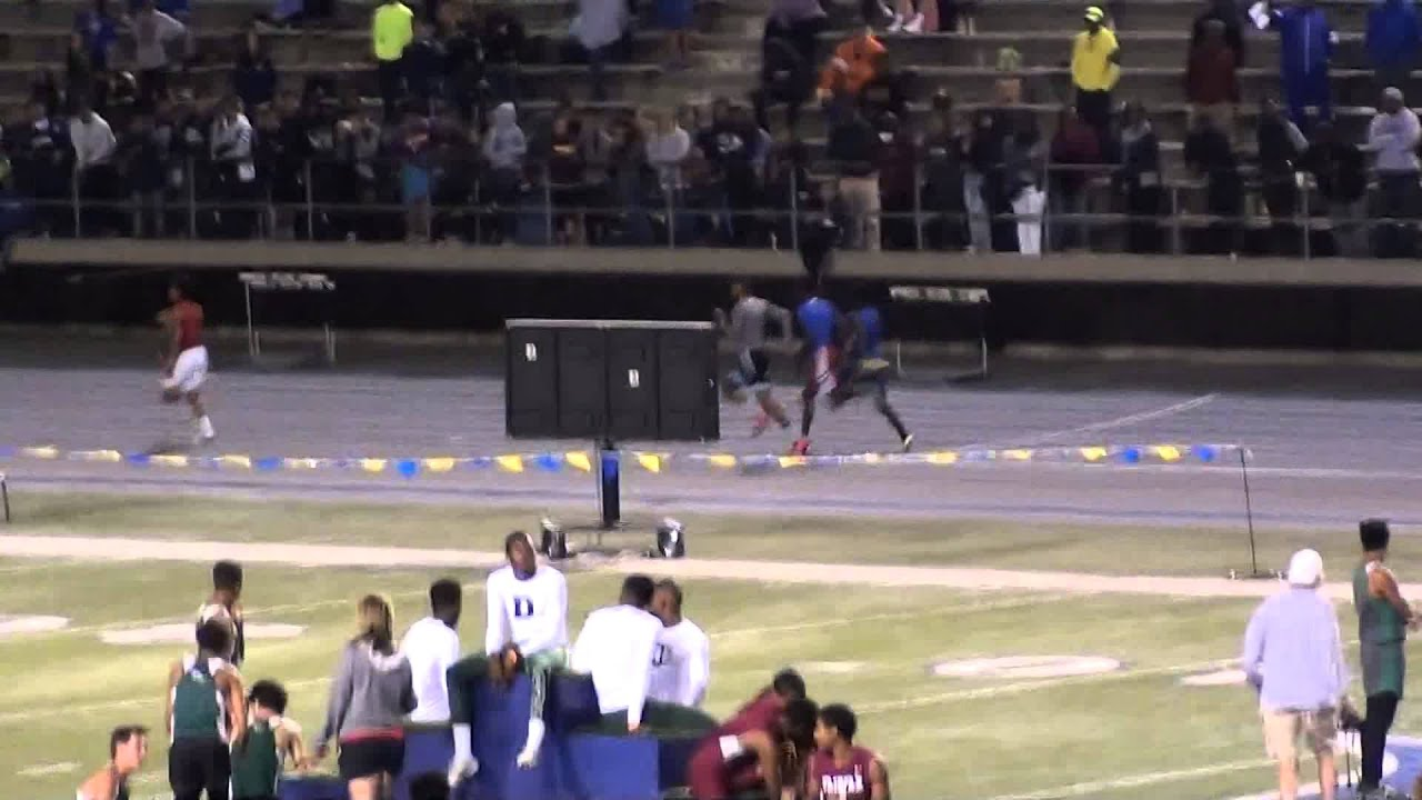 2015 CIF CITY SECTION FINALS VARSITY BOYS 4X400 - YouTube