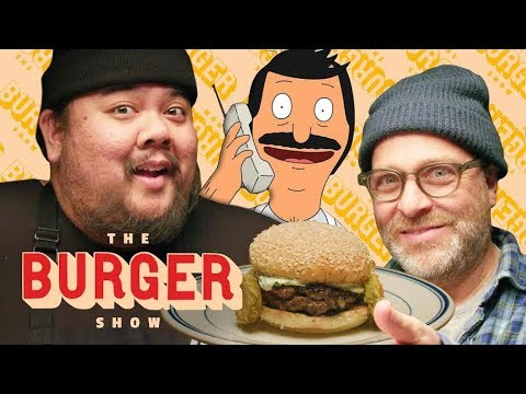 Bob's Burgers Taste-Test with H. Jon Benjamin | The Burger Show